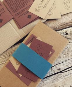 comfy - felt and leather cases packaging