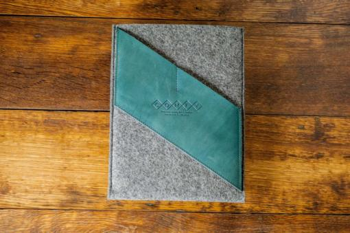 iPad-felt-green-italian-leather-case-sleve-pouch-1
