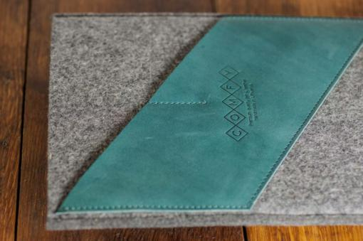 iPad-felt-green-italian-leather-case-sleve-pouch-2