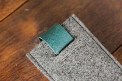 iPhone5-5s-felt-green-italian-leather-case-sleve-pouch-3