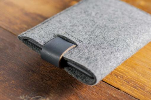kindle-paperwhite-felt-grey-italian-leather-case-sleve-pouch-2