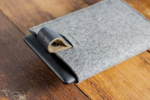 kindle-paperwhite-felt-grey-italian-leather-case-sleve-pouch-5